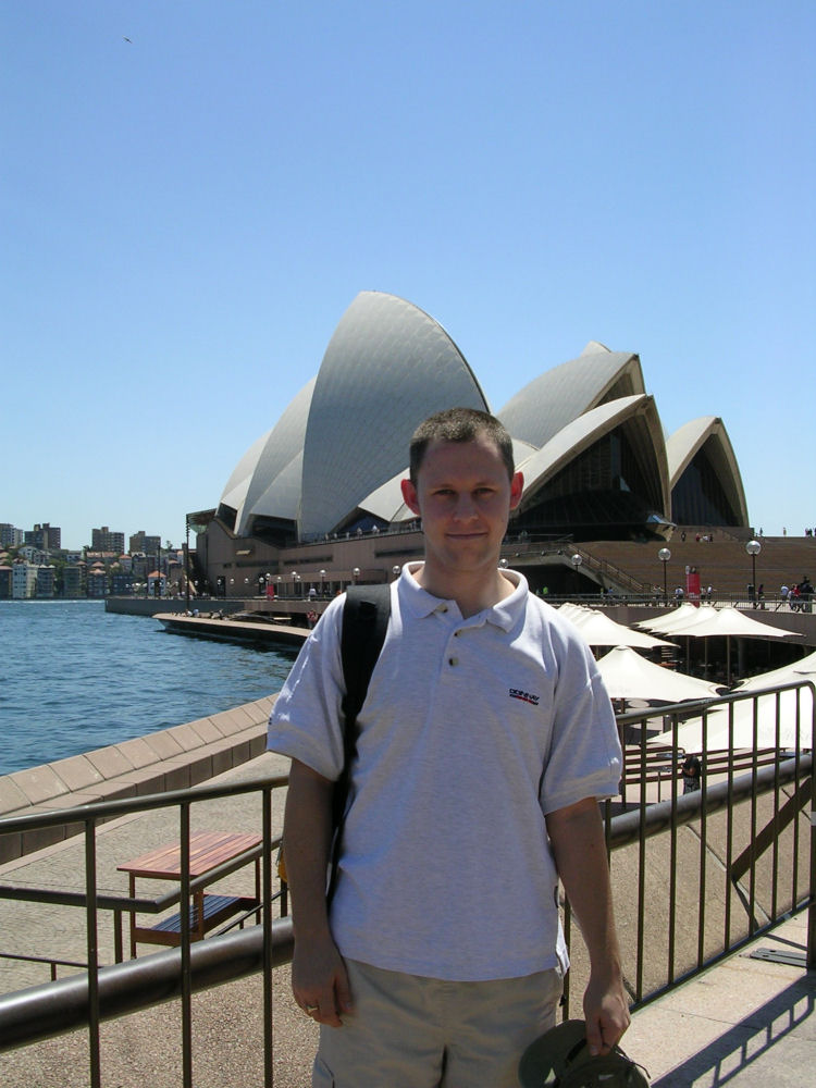 Gary and Sydney Opera House